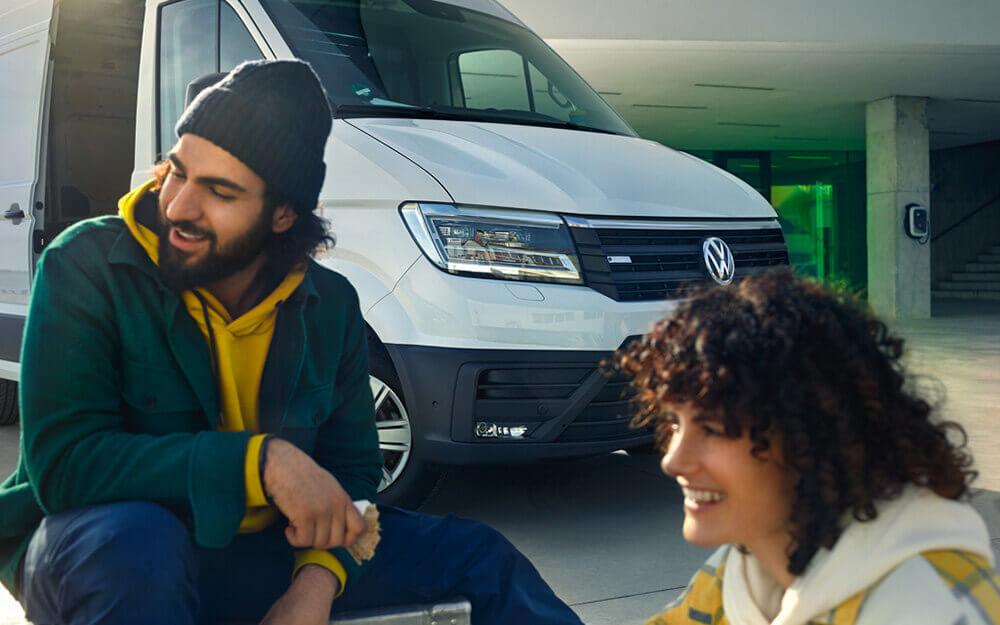 VW E-Crafter Kastenwagen