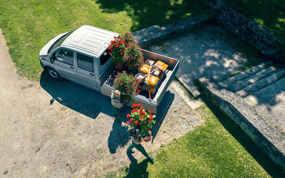 VW Transporter Pritschenwagen